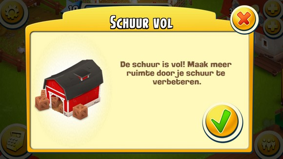 schuur is vol hayday